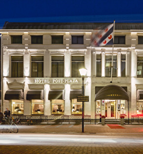 Post-Plaza Hotel & Grand Café   Lovely Leeuwarden 3-daags