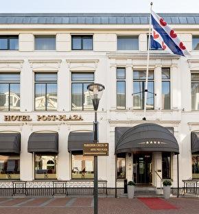 Post-Plaza Hotel & Grand Café | Stoer & historisch Leeuwarden